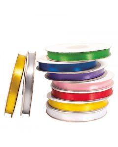 Satinband 30mx10mm 9 färger/fp