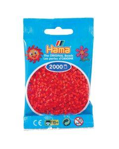 Minipärlor HAMA röd 2000/fp