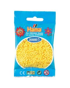 Minipärlor HAMA gul 2000/fp