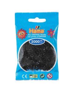 Minipärlor HAMA svart 2000/fp