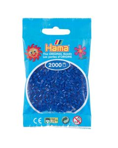 Minipärlor HAMA blå 2000/fp