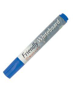 Whiteboardpenna FRIENDLY rund blå