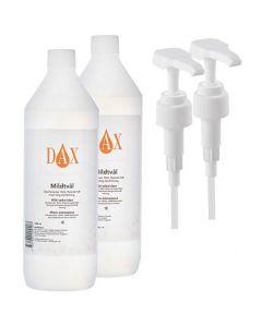 Mildtvål DAX inkl. pump 1000ml 2/FP