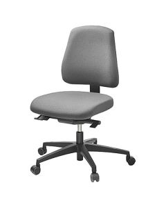 Kontorsstol LD6330 grå u armstöd