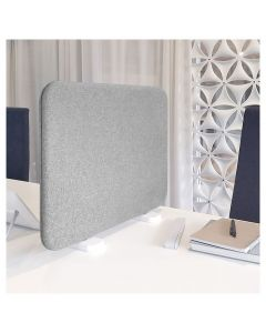 Bordsdisplay m.ben 120x45 Dox 52-mel.grå