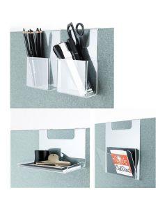 Golv-bordskärm Plexitillbehör för 30mm