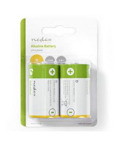 Batteri NEDIS D LR20 2/FP