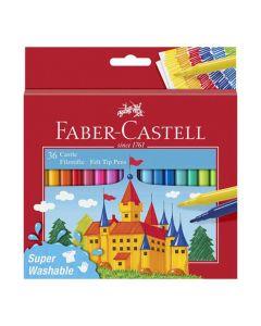 Fiberpenna Barn sorterade färger 36/FP