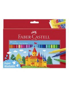 Fiberpennor Barn sorterade färger 50/FP