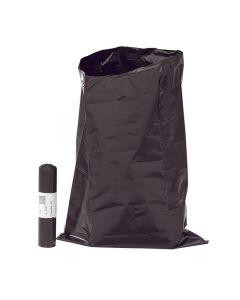Plastsäck LD latrin 70 liter 80my svart 10/RL