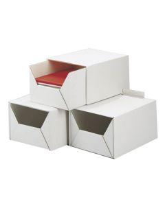Arkivbox A4 315x220x160mm del-2 vit