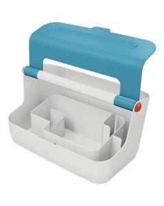 Förvaringsbox bärbar LEITZ COSY blå