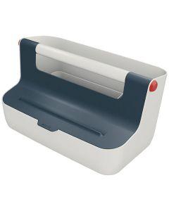 Förvaringsbox bärbar LEITZ COSY grå