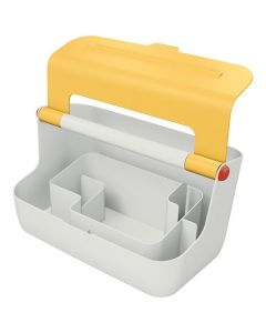 Förvaringsbox bärbar LEITZ COSY gul
