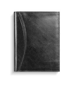 Karavan kalenderplånbok skinn svart - 3936