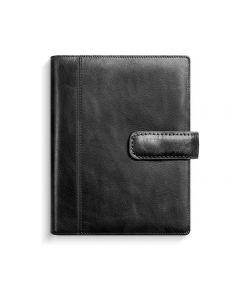 Mini Systemkalender skinn svart - 4178