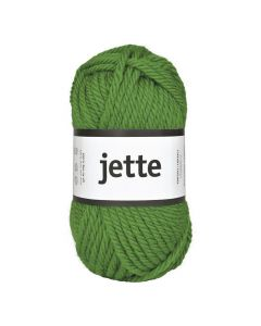 Ullgarn Jette 50g grön,