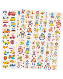 Stickers storpack blandade motiv 526/fp