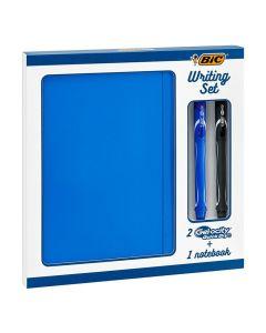 Skrivset BIC Gel-Ocity pennor och Block