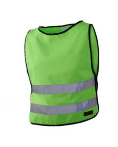 Reflexväst Barn XS Grön