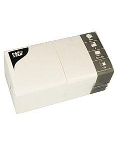 Servett 3-lags 24x24cm vit 200/FP