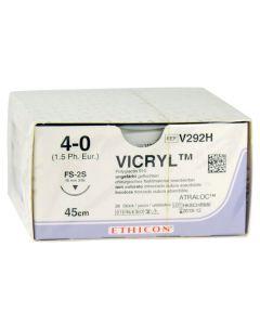 Sutur VICRYL 4-0FS-2S nål 45cm tråd 36/FP