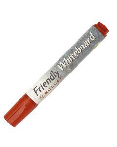 Whiteboardpenna FRIENDLY rund röd