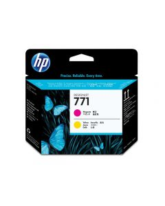 Skrivhuvud HP CE018A 771 Magenta/Gul