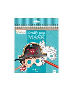 Ansiktsmasker Graffy Pop Sagomotiv 250g
