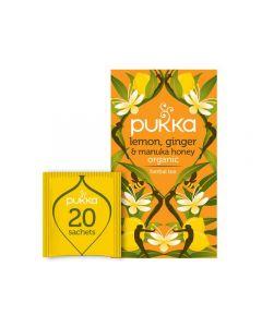 Te PUKKA Lem Ginger Manuka Honey 20/FP