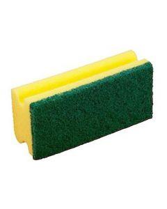 Rengöringssvamp gul/grön 10/FP