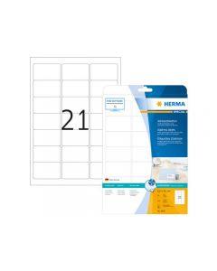 Etikett HERMA Inkjet 63,5x38,1mm 525/FP
