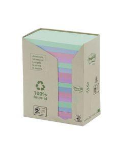 Notes POST-IT 100% recyc 127x76mm Rainbow 16/FP