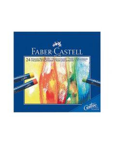 Oljepastellkritor FABER 24 färger