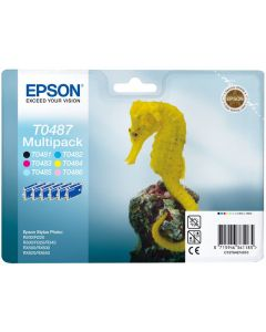 Bläckpatron EPSON C13T04874010 multipack