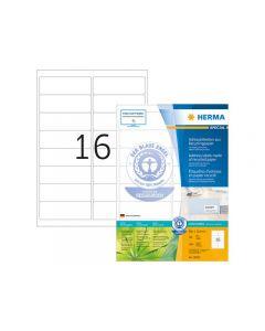 Etikett HERMA Miljö 99,1x33,8mm 1600/FP