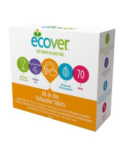 Maskindisk ECOVER All-in-one tabs 72/FP