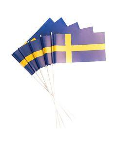 Svenska flaggan på pinne 50/fp