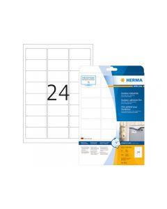Etikett HERMA Outdoor 63,5x33,9mm 240/FP