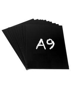 Griffelplast A9 svart 10/FP