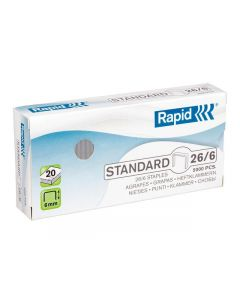 Häftklammer RAPID 26/6 standard 5000/FP
