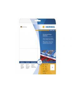 Etikett HERMA Slitstark 105x148mm 100/FP