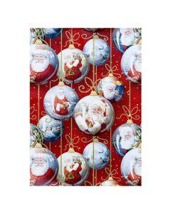 Julpapper 57cmx154m Santa