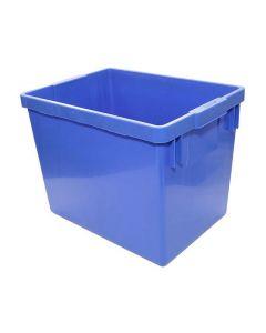 Återvinningslåda blå 37x26x27cm 21 liter