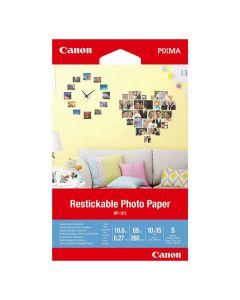 Fotopapper CANON RP-101 Självhäft. 5/FP