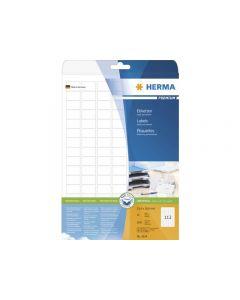 Etikett HERMA Premium 25,4x16,9mm 2800/FP