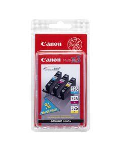 Bläckpatron CANON CLI-526C/M/Y