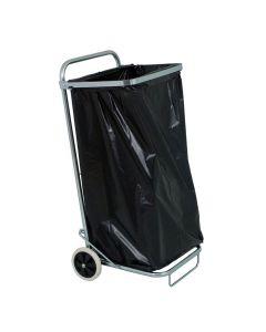 Säckvagn med låsring 125 liter