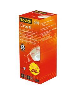 Tejp Crystal SCOTCH 19x33 7+1 på köpet