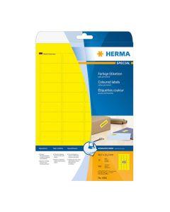 Etikett HERMA Färg gul 45,7x21,2mm 960/FP